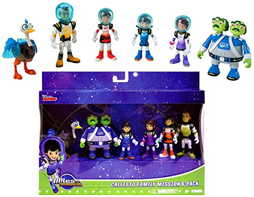 """Disney Junior Miles from Tomorrowland Callisto Family Mission Pack Action Figure 3"""" IN STOCK"""