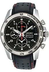Seiko Men's SNAE65 Sportura Chronograph Alarm Watch