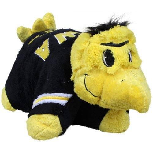 NCAA Iowa Hawkeyes Pillow Pet (Iowa Pillow)