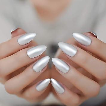Amazon.com: Meili Shadow - Uñas extra largas para manicura ...