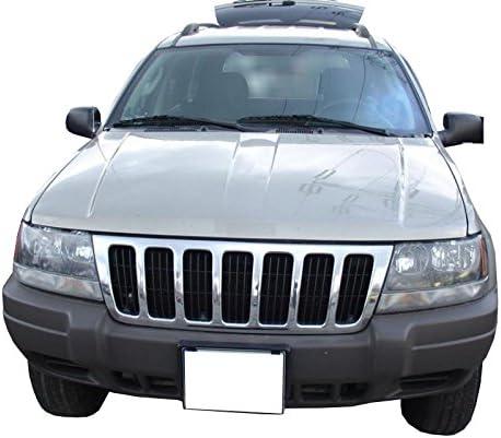 Utilisation*: Toutes Les Versions cod 1593 MTM Tapis de Coffre Grand Cherokee II de 1999 a 2004 sur Mesure WJ Bac de Protection Antiderapant