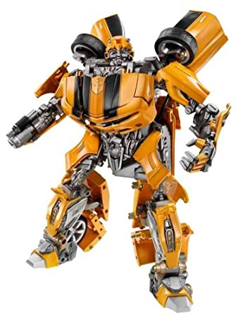 4adad576184fe Amazon.com  Hasbro Transformers Ultimate Bumblebee Figure  Toys   Games