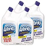 Home Care Lab The Works 32-Ounce Toilet Bowl Cleaner - 4 PACK