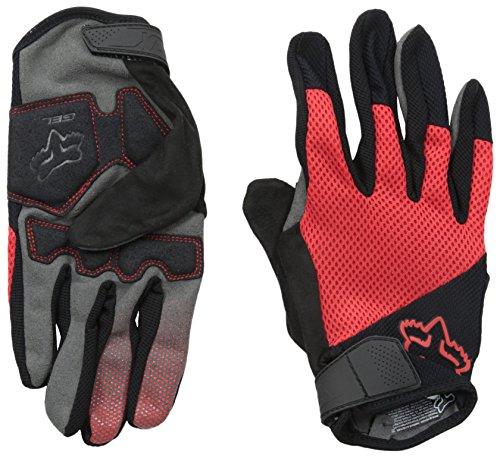 Fox Racing Reflex Gel Mountain Bike Gloves, Red, Small ()