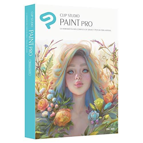 CLIP STUDIO PAINT PRO - NUEVO - para Windows y MacOS, Version en español