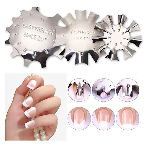 French Manicure Halloween - BEAUTYBIGBANG French Smile Line Acrylic Gel