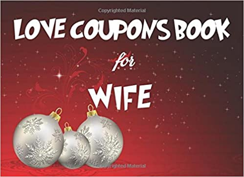love coupons book for wife christmas coupon book love coupons last minute present for wife husband girlfriend stocking stuffer