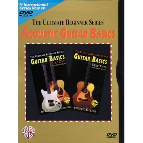 The Ultimate Beginner Series: Acoustic Guitar Basics [Steps One and Two Together On One DVD]