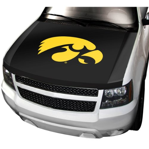 ProMark NCAA Iowa Auto Hood Cover, One Size, One Color