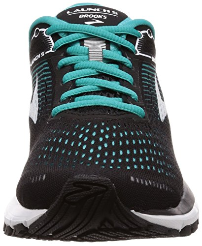 Brooks Damen Launch 5 Laufschuhe Mehrfarbig (Black/teal Green/white)