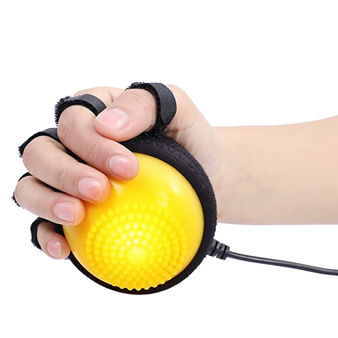 Details about  /Portable Silicone Massage Therapy Grip Ball For Hand Finger Strength Fitness New