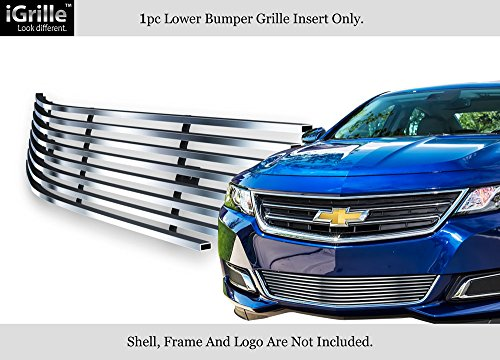 Fits 2014-2018 Chevy Impala Stainless Steel Lower Bumper Billet Grille #C65946C Chevy Impala Billet Grille