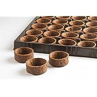 "Paris Gourmet 1.3"" Mini Round Chocolate Tart Shells - 16pk"