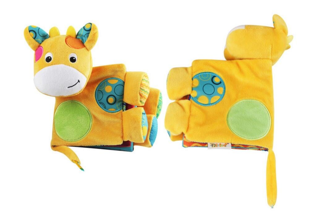 Achun Multifuncional Rompecabezas Bebé / Juguete Infantil Libro de Actividad de Libro de Tela Libro