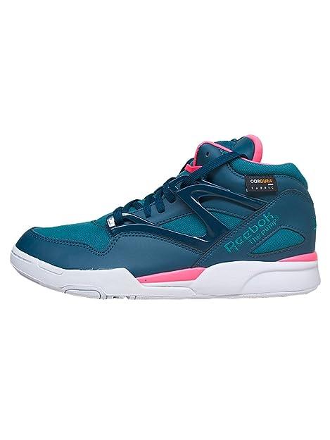 Reebok Bomba Omni Lite Cordura Unisex Adulto, Cuero Liso, Zapatillas High - Azul, Hombre, 40.5 EU: Amazon.es: Zapatos y complementos