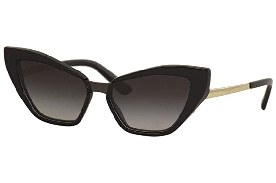 Amazon.com: Dolce & Gabbana DG 4357 HAVANA/BROWN SHADED 29 ...