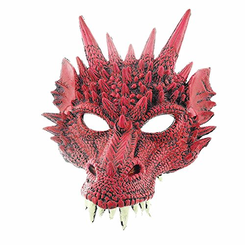 Supersoft Fierce Dragon Mask (Red) -