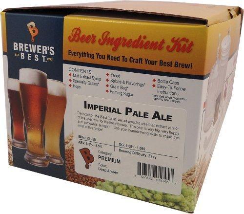 Home Brew Ohio Brewers Best Imperial Pale Ale Beer Ingredient Kit