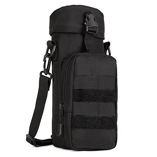 FLYHAWK Tactical Molle Water Bottle Holder Belt Bottle Carrier£¬Large Kettle Bag pouch