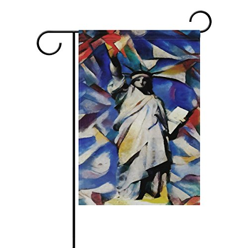 july long polyester garden flag