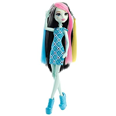 Monster High Voltageous Hair Frankie Stein Doll: Toys & Games
