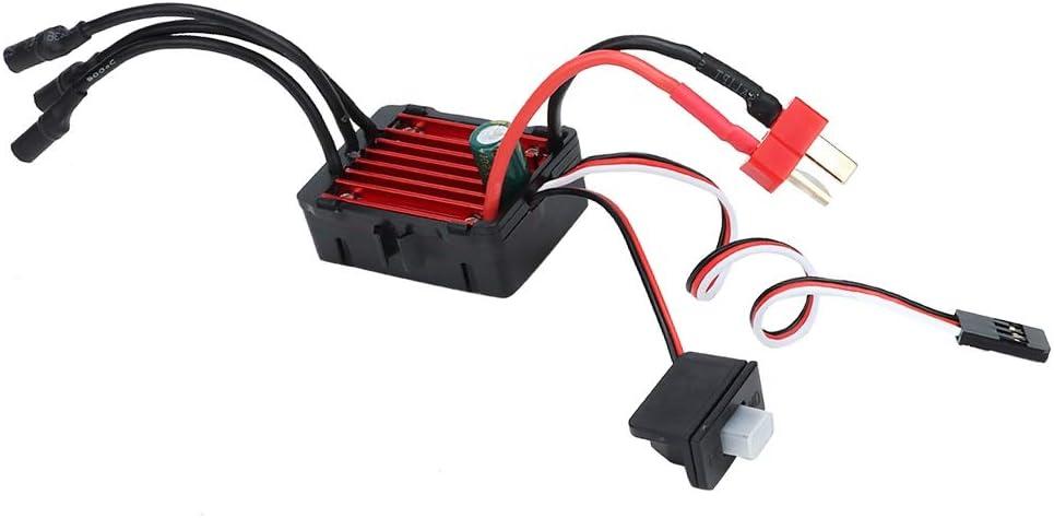Dilwe ESC Brushless 35A Brushless Wasserdichter elektrischer Drehzahlregler ESC 1//14 1//16 RC Car