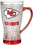 NFL Kansas City Chiefs Crystal Flared Mug, 16-Ounce