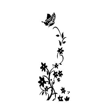 aloiness Pegatinas De Pared Etiqueta De La Flor De La Vida para La ...
