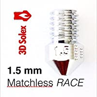 3D Solex UM2 Matchless Nozzle - 2.85mm Filament, 1.5mm RACE by 3D Solex