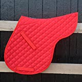 Derby House Classic Numnah Pony Red