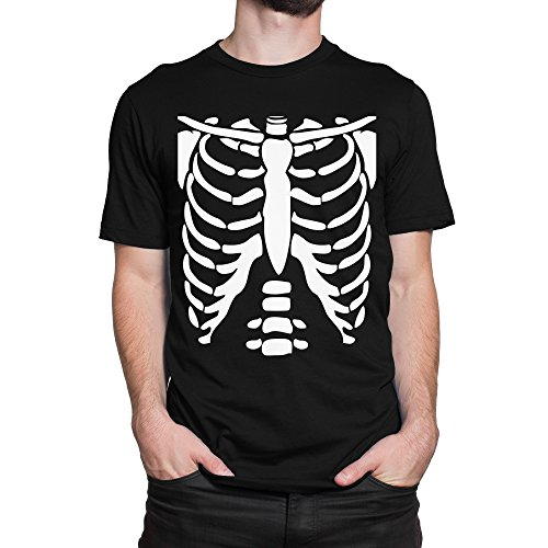 GLOW IN THE DARK SKELETON RIB CAGE Xray