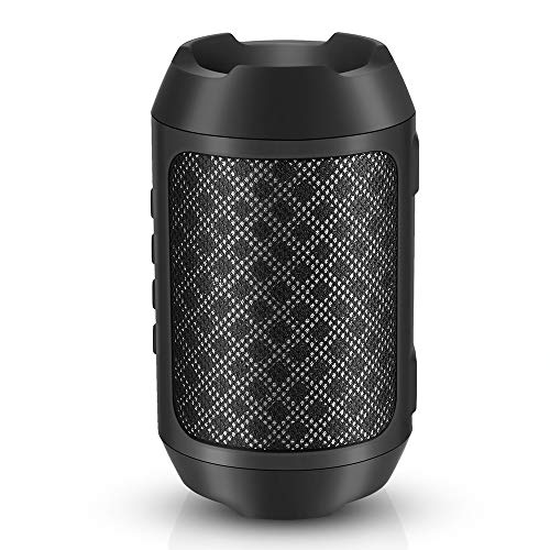 Bluetooth Speakers, IPX56 Waterproof Wireless Portable Speaker with Deep Bass, Built-in Mic, 12-Hour Playtime, TF Card, TWS, Outdoor Bluetooth 5.0 Speaker for Camping, Beach, Sports, Party