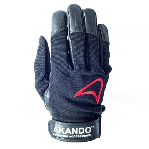 - Akando Skydiving Gloves (Black) (XL)