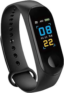 Konesky Fitness Tracker Monitor de Ritmo cardíaco Pulsera de ...