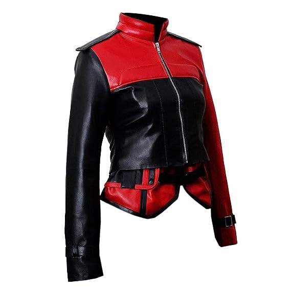 Pour FemmeAmazon Cuir Injustice Quinn En E Veste 2 Genius Harley hsBtCrdQx