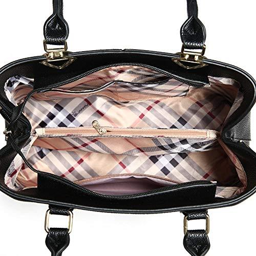 Sac Messenger Sac à Bag Couleurs 23cm Femmes Mode PU 019 5 13 33 Main ANLEI à 01 bandoulière La fw8Pdfqz