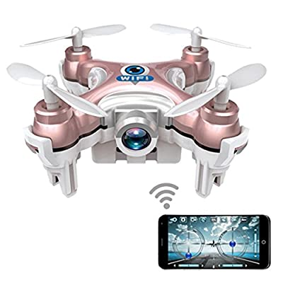Dwi Dowellin Wifi RC FPV Real-time Transmission Mini Drone with HD Camera CX-10WP from Dwi Dowellin