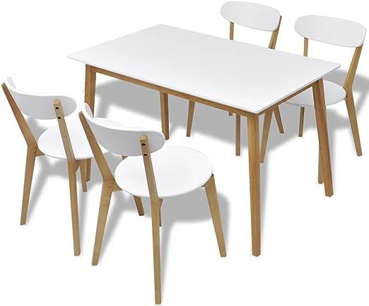 Kitchens Inc Mesa de Comedor Grande para Cocina con 6 sillas ...
