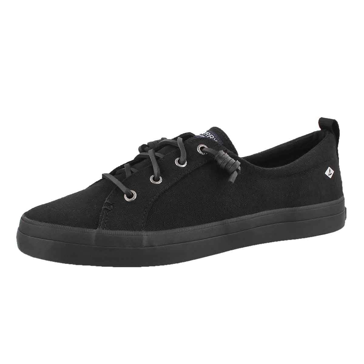 Sperry Top-Sider Crest Vibe Flooded Sneaker B01N2VRRLL 7 B(M) US|Black
