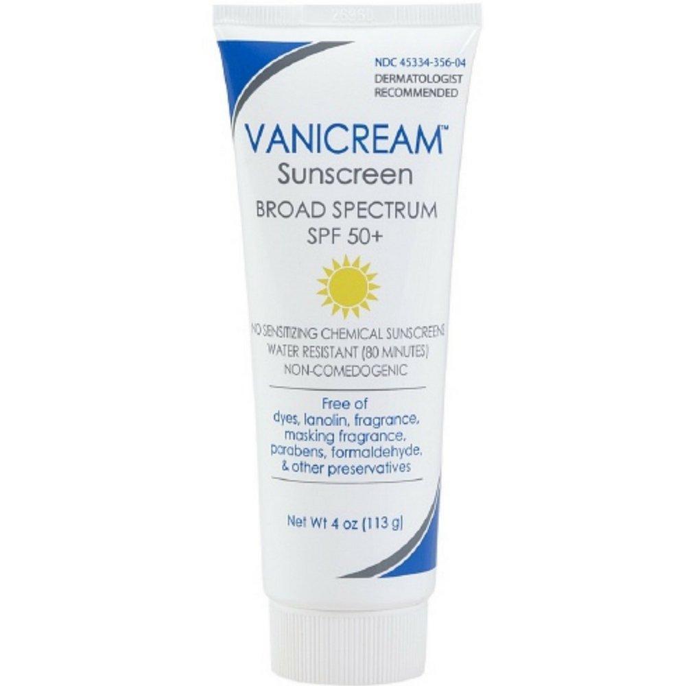 Vanicream Sunscreen, SPF 50+ 4oz by Vanicream