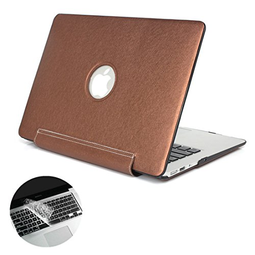 se7enline-macbook-air-13in-case-silky-pu-leather-coated-plastic-hard-cover-snap-on-logo-shine-throug
