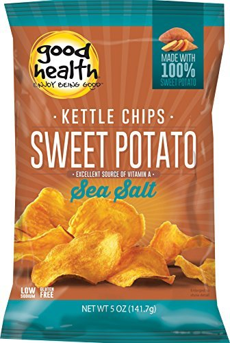 Good Health Glories Kettle Sweet Potato Chips, 5-Ounce (Pack of 12) by Goodhealth