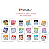 18 NEW KaWaii Baby Printed Snap One Size Pocket Cloth Diapers-Covers