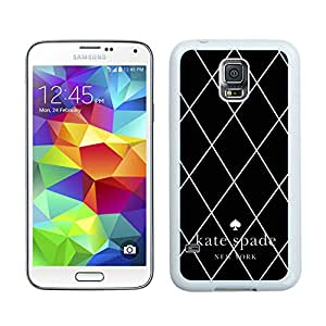 Personalized Popular Design Samsung S5 Case Kate Spade New York Phone Case For Samsung Galaxy S5 Plastic Cover Cas 50 White