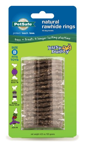 PetSafe Busy Buddy Refill Ring Dog Treats for select Busy Bu