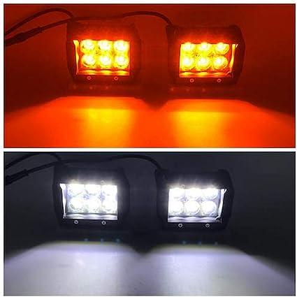 12V Car Remote Control Flash Strobe 2Lead LED Light Wiring Harness Kit Advanced