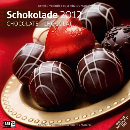 Schokolade 2012 Art12 Collection: Broschürenkalender