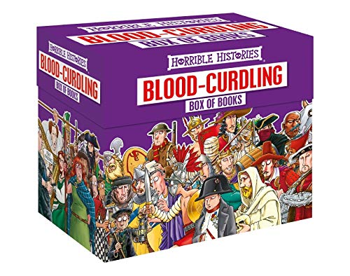Blood-curdling Box of Books (Horrible Histories Collections) [Oct 06, 2016] Deary, Terry and Brown, Martin