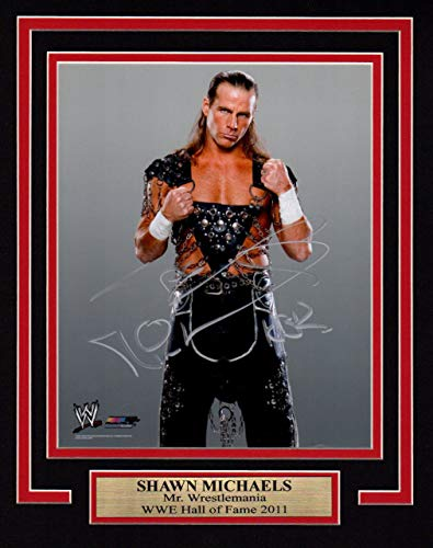 WWE WWF SHAWN MICHAELS HBK 11X14 Matted WITH Namplate PHOTO AUTOGRAPH