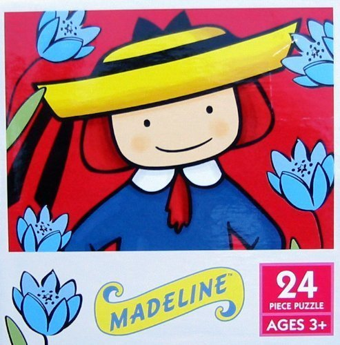 24 Piece Madeline In Her Flower Garden Puzzle by Ceaco